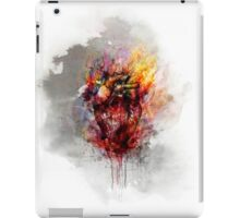 color bleeding heart iPad Case/Skin