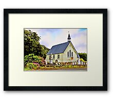 Community Church, Dover Framed Print
