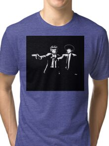 Cowboy Bebop Pulp Fiction Tri-blend T-Shirt