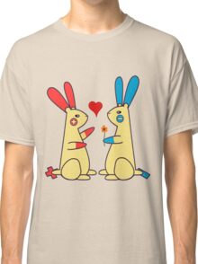 Bunny Love - Plusle and Minun  Classic T-Shirt