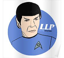 LLP - Live Long And Prosper Poster