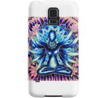 Mandala being lotus yoga meditation Samsung Galaxy Case/Skin
