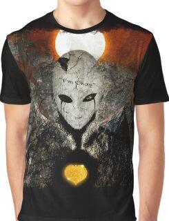 """I'm okay"" Facade Graphic T-Shirt"