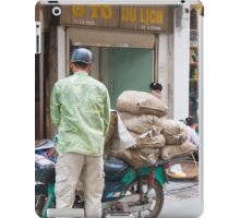 Scooter Large Load Hanoi Vietnam iPad Case/Skin
