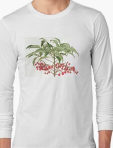 Spice Berry Coral Ardisia Evergreen Shrub T-Shirt