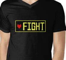 Fight?  Undertale Choices.... Mens V-Neck T-Shirt