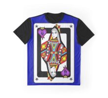 """The Queen Of Hearts"" Graphic T-Shirt"
