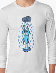 Rabbit in the Rain Long Sleeve T-Shirt