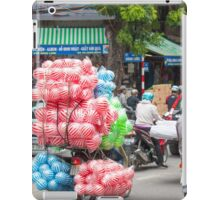 Scooter Carrying Coloured Balls Vietnam iPad Case/Skin
