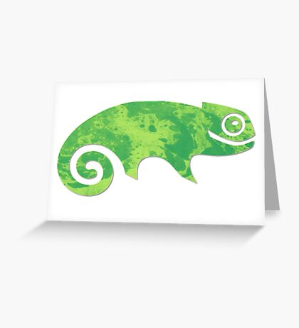 Linux SUSE Greeting Card