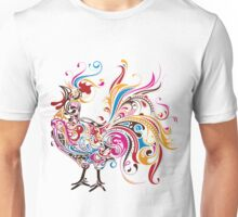 Colorful Cock Unisex T-Shirt