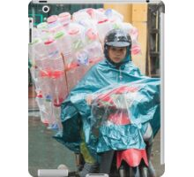 Scooter Lady with Plastic Vietnam iPad Case/Skin