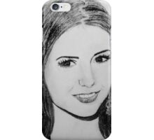Nina Dobrev is Queen iPhone Case/Skin