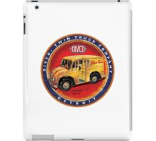 Divco vintage trucks USA Detroit iPad Case/Skin