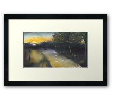 Country road take me home... Framed Print