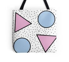 Pastel Geometric Shapes Tote Bag