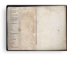 Civil War Maps 2145 Maps of Virginia Canvas Print