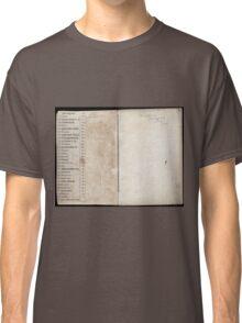 Civil War Maps 2145 Maps of Virginia Classic T-Shirt