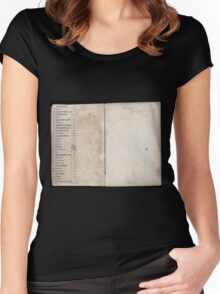 Civil War Maps 2145 Maps of Virginia Women's Fitted Scoop T-Shirt