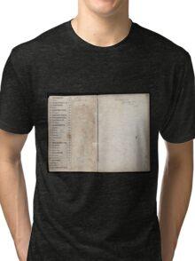Civil War Maps 2145 Maps of Virginia Tri-blend T-Shirt