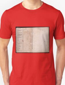 Civil War Maps 2145 Maps of Virginia Unisex T-Shirt