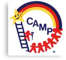 Camp CAMP logo store Canvas Print