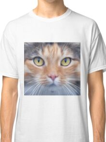 My cat is looking at me Classic T-Shirt