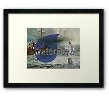 Water Boyz Framed Print