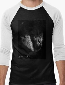 Melbourne Zoo - Gibbon Men's Baseball ¾ T-Shirt