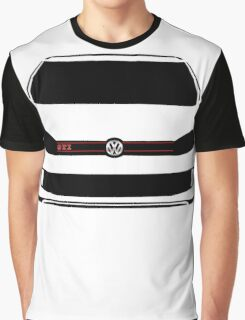 VW GTI Front Silhouette  Graphic T-Shirt