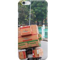 Scooter Cardboard Box Load Hanoi iPhone Case/Skin