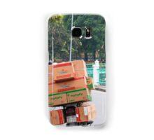 Scooter Cardboard Box Load Hanoi Samsung Galaxy Case/Skin