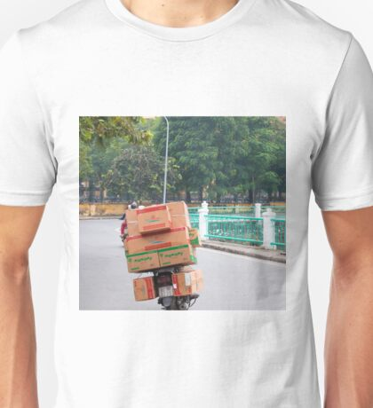 Scooter Cardboard Box Load Hanoi Unisex T-Shirt