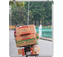 Scooter Cardboard Box Load Hanoi iPad Case/Skin