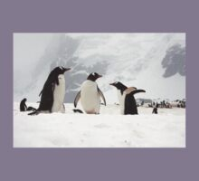 "Gentoo Penguins ~ ""Our World"" Kids Tee"