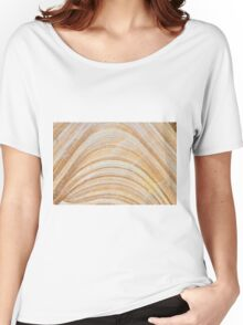 Australian rock formation background, sandstone texture Women's Relaxed Fit T-Shirt