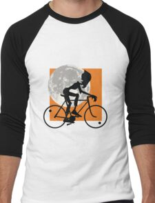 Friendly Zombie - bike Men's Baseball ¾ T-Shirt
