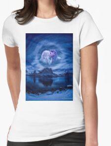 Moonlight Kiss Womens Fitted T-Shirt