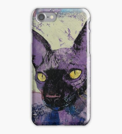 Sphynx Painting iPhone Case/Skin