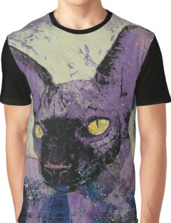 Sphynx Painting Graphic T-Shirt