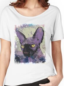 Sphynx Painting Women's Relaxed Fit T-Shirt