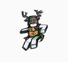 Cardboard Robot Deer Bucket Blox Unisex T-Shirt