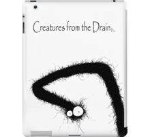 big creatures from the drain 9 iPad Case/Skin