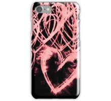 repetitive heart 8 iPhone Case/Skin