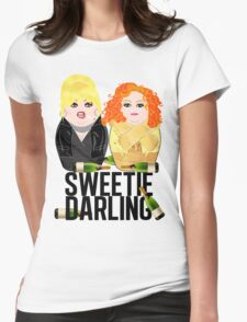 Sweetie Darling /Fabulous Realness 2.0 Womens Fitted T-Shirt