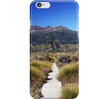path to the mountains iPhone Case/Skin