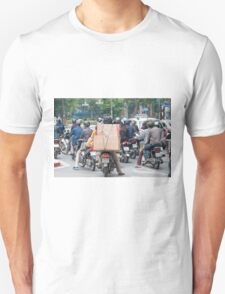 Scooter in Hanoi with Box Load Unisex T-Shirt