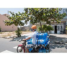 Scooter Load in Hoi An Vietnam Photographic Print