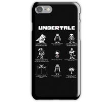 Undertale Character Funny iPhone Case/Skin