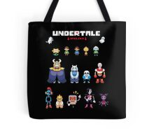 Undertale Character Color Version Tote Bag